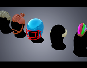 3D asset Base Haircuts 41-45