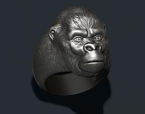 3D model Gorilla ring