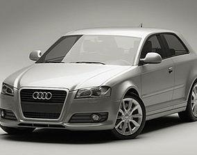 3D model Audi A3 2009