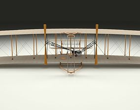 3D model old Wright Flyer