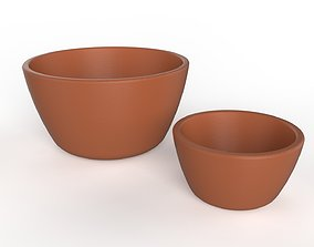 3D Two Bowls