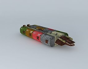 Geminon Freighter 3D model