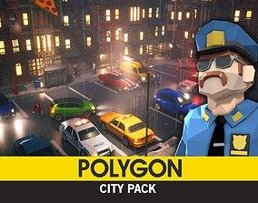 POLYGON - City Pack 3D asset