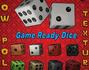 Game Dice 3D asset