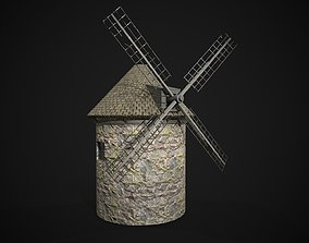 3D model realtime Windmill house
