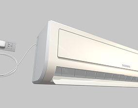 Air Conditioner Split 3D asset