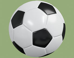 Soccer ball in Blender and other formats 3D model