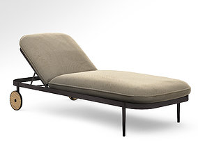 Tait trace sunlounge daybed 3D model