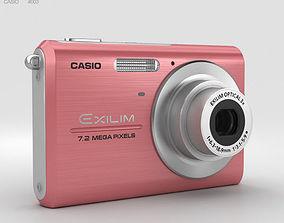 Casio Exilim EX-Z75 Pink 3D