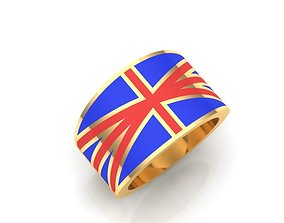 fashion-ring 3D print model rings