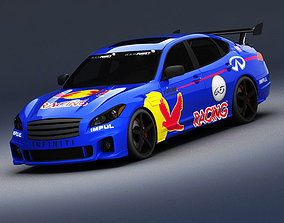 3D model Infiniti M45 Impul Race Version