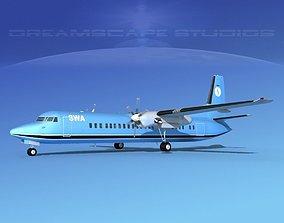 3D Fokker F-60 SWA