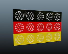 game 3D Germany flag