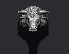 Bull ring cow 3D printable model