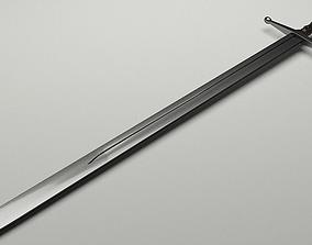 3D model Medieval Longsword