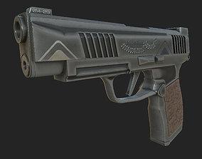 3D Pistol 3dsmax
