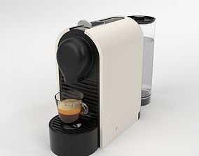 Nespresso U Cream Coffee Machine Blender Cycles 3D model