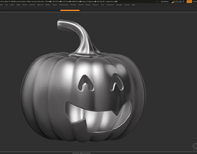 3D printable model halloween pumpkin 13