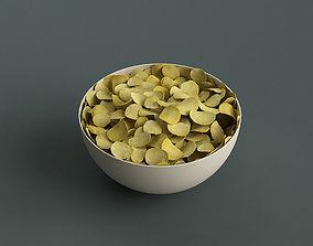 3D model Big Bowl Of Potato Chips