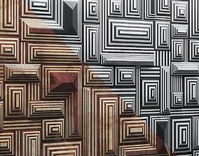 3D model Labirinto Wall Panel Alexander Lamont