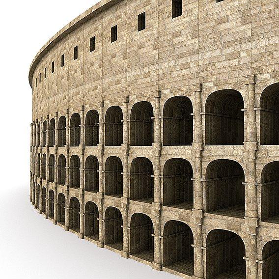 Roman Colosseum PBR Low-poly