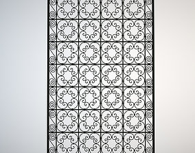 3D model Ornamental Arab Grate