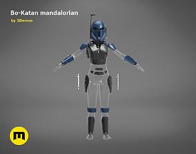 3D print model Bo-Katan Mandalorian Armor Set