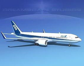Boeing 767-300 ANA 3D