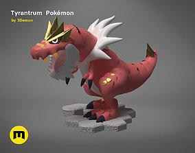 3D print model Tyrantrum Pokemon
