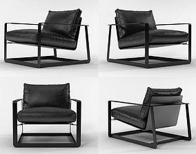 3D model Gaston armchair
