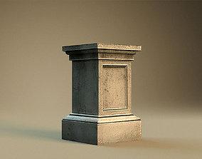 Pedestal 2 3D asset