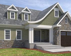 House-068 roof 3D model