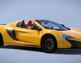 realtime Auto McLaren P1 Convertible 3D Model
