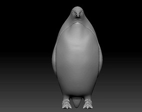 3D model penguin aptenodytes