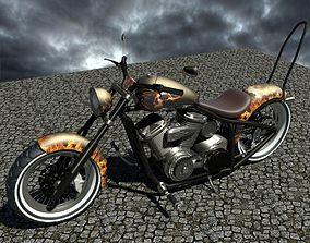 chopper motor 3D model