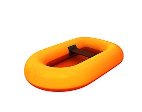 3D model Rubber Raft
