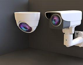 Videocamera 3D model