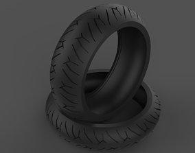 3D model Pirelli Tire Diablo Rosso 2