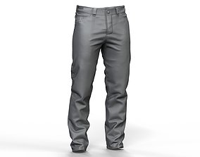 character Zbrush Mens Jeans 3D model
