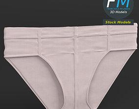 3D Flat briefs underwear