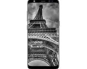 3D Galaxy S8 Silver