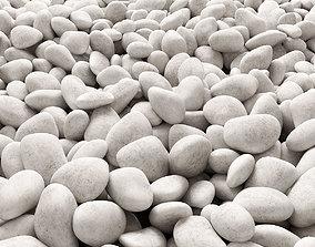 Stone pebble 3D model