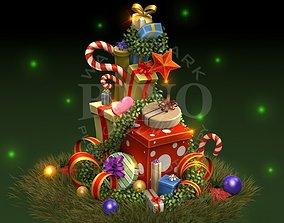 Gift Tower 3D model