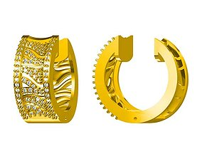 Amazing men ring jewellery design 3D printable model