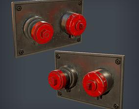3D model Fire Hydrant - Wall