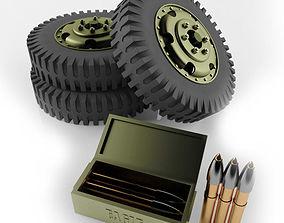 3D printable model Army Wheel