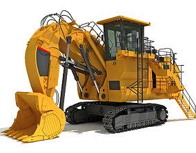 Mining Excavator 3D model