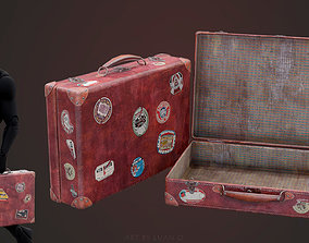 3D model game-ready Suitcase