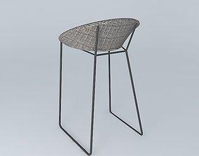 3D model Janus et Cie Loom Stool