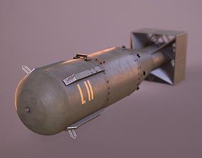 Little Boy Atomic Bomb 3D asset